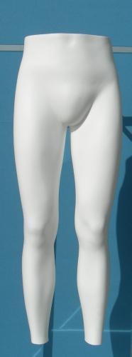 011 GAMBE TDUG - Display per pantalone da uomo da appendere alla parete. Gambe diritte