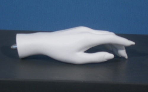 011 MANO D 3SX - Mano sx in PVC da donna