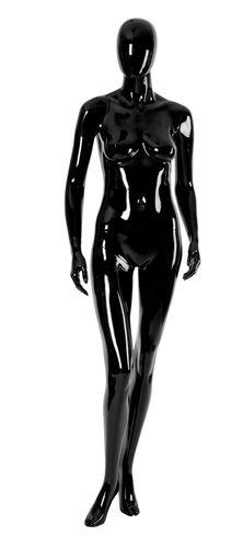 011 MD EGGD 19 - Manichino stilizzato testa a uovo laccato lucido donna