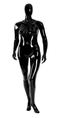 011 MD EGGD 30XL - Manichino stilizzato testa a uovo laccato lucido donna