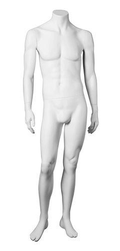 011 MUST HU04 - Manichino senza testa uomo.