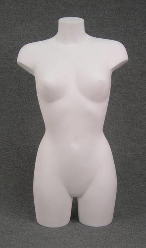 011 TORSO D TS17LA - Torso per abbigliamento da donna in plastica BIANCO LATTE