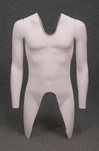 011 TORSO U TS006 H2 - Torso in plastica da uomo per foto giacche