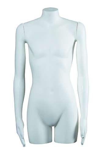 011 TS020 - Torso per abbigliamento da bambino-a con braccia diritte (12-14 anni).