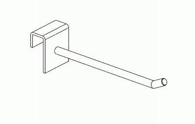 012 AR250FCH - Gancio in filo cm. 25