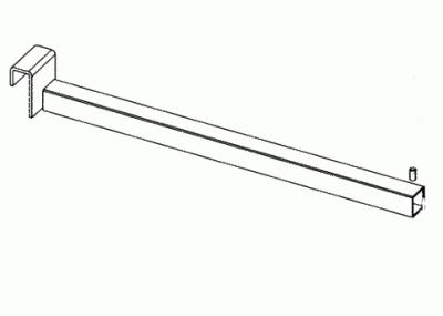 012 AR350DCH - Appenderia frontale in tubo diritta