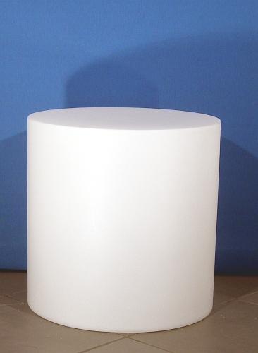 012 CILINDRO 50 - Base cilindrica H cm.50 in plastica