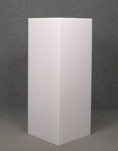 012 CUBO100 - Cubo display H cm.100 in plastica