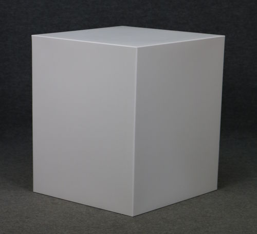 012 CUBO43 - Cubo display H cm.43 in plastica