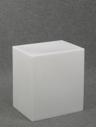 012 CUBO45 - Cubo display H cm.45 in plastica