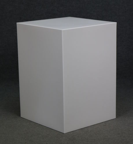 012 CUBO53 - Cubo display H cm.53 in plastica