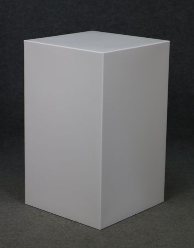 012 CUBO63 - Cubo display H cm.63 in plastica