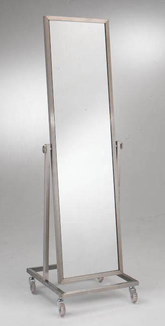 012 SPECCHIERA SP50BACH - Telaio per specchio bifacciale girevole su ruote