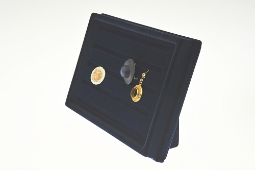 015 111 ESPOSITORE PUCCY PICCOLO BOX - Confezione espositore puccy piccolo per anelli in plastica floccato 12pz.