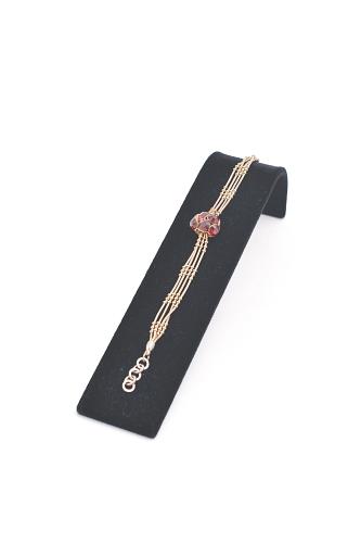 015 41 ESPOSITORE BOX - Confezione espositore alluminio floccato o verniciato per bracciali e orologi 20pz.