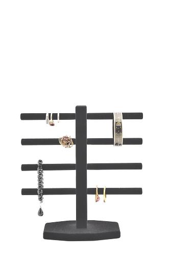 015 618 ESPOSITORE ANELLI BOX - Confezione espositore per anelli in legno floccato o verniciato 10pz.