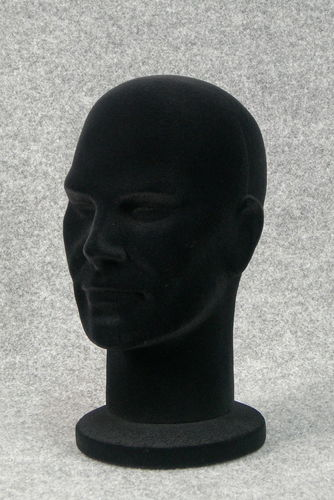 015 8 TESTINA UOMO VELLUTATA BOX30 - Confezione testina in polistirolo vellutata pezzi 30