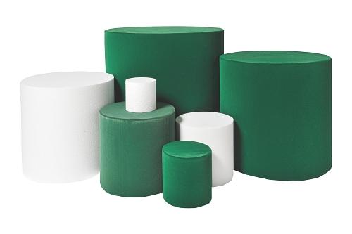 015 98 10 CILINDRO VELLUTATO BOX - Confezione cilindro vellutato diametro 10cm. 30pz.