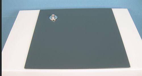 025 BASE MANICHINO GR - Base in ferro verniciato grigio