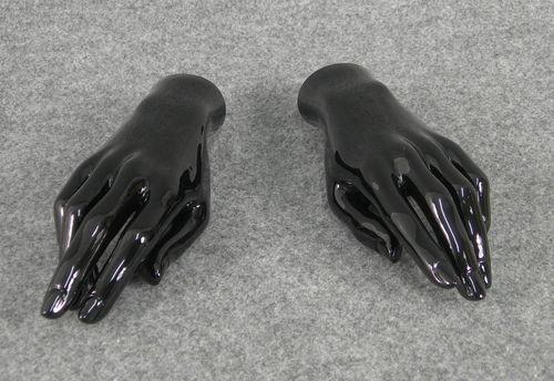 025 COPPIA MANI D 10 - Coppia di mani da donna in PVC
