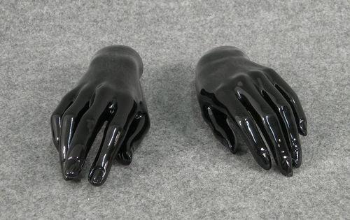 025 COPPIA MANI D 14 - Coppia di mani da donna in PVC
