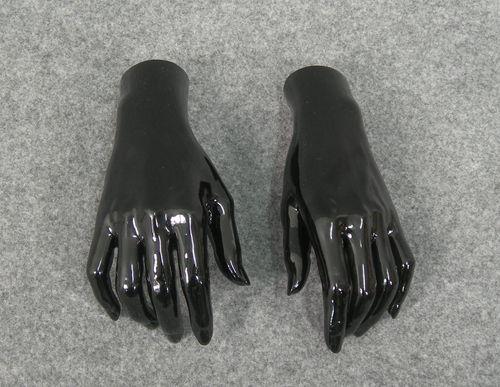 025 COPPIA MANI D 18 - Coppia di mani da donna in PVC