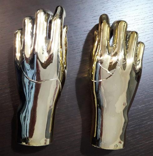 025 COPPIA MANI D AU - Coppia di mani in PVC da donna