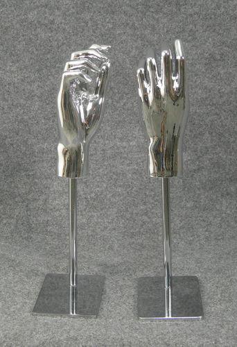 025 COPPIA MANI D BASE AG - Coppia di mani in PVC da donna AG