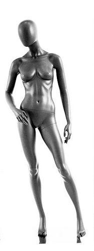 025 MANICHINO DEG P 07 - manichino stilizzato per abbigliamento da donna