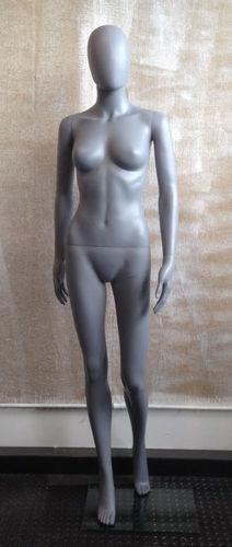 025 MANICHINO DONNA SFH2 - manichino stilizzato per abbigliamento da donna in plastica