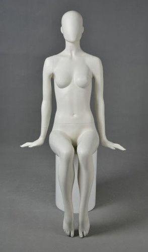 025 MANICHINO PHOENIX6 - Manichino seduto stilizzato donna
