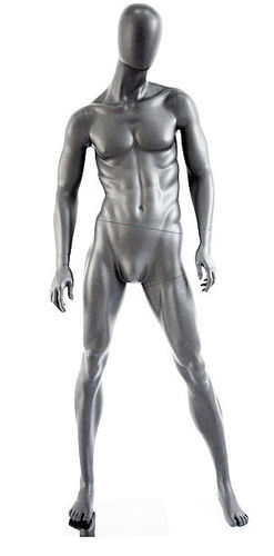 025 MANICHINO UEG P 02 - manichino stilizzato per abbigliamento da uomo