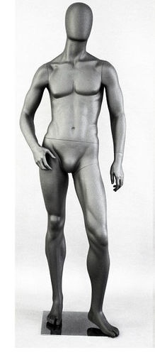 025 MANICHINO UEG P 04 - manichino stilizzato per abbigliamento da uomo