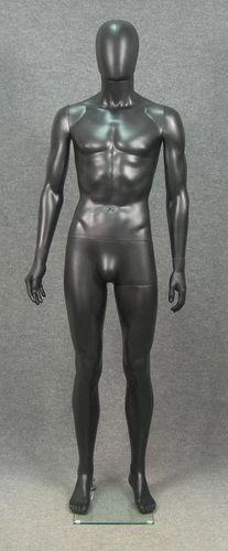 025 MANICHINO UEG SMH1 NE - manichino stilizzato per abbigliamento da uomo in plastica