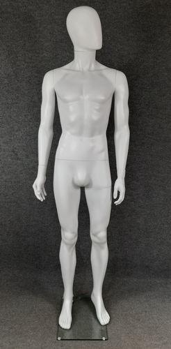 025 MANICHINO UOMO SMH1 - manichino stilizzato per abbigliamento da uomo in plastica