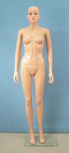 025 MD PVC SF6 - Manichino donna realistico PVC con make up