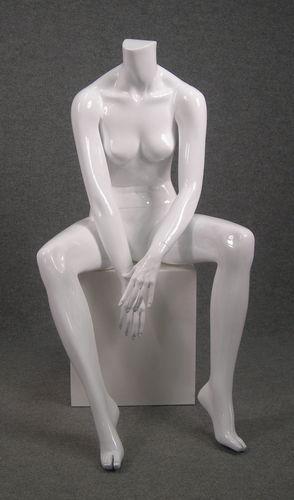 025 MDST CLASS D17 BI - Manichino seduto senza testa da donna