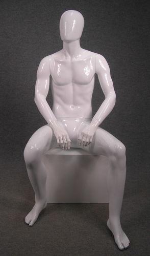 025 MEX 15 BI - Manichino stilizzato seduto da uomo
