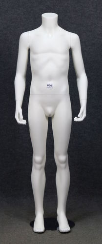 034 MANICHINO 806B - Manichino da bambino senza testa 10-12 anni modello Vision