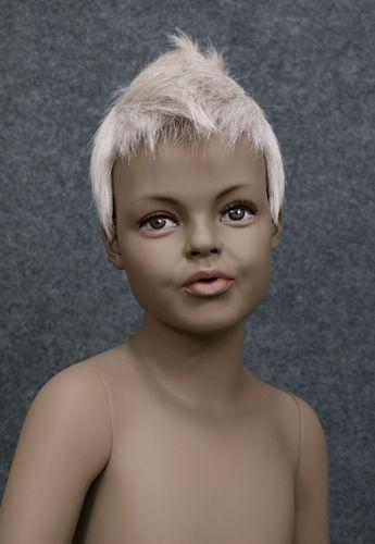 034 PARRUCCA 401 6 C1 - Parrucca per manichino bambina marchio Window Mannequins