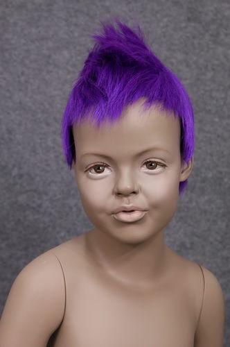 034 PARRUCCA 401 6 DF7 - Parrucca per manichino bambina marchio Window Mannequins