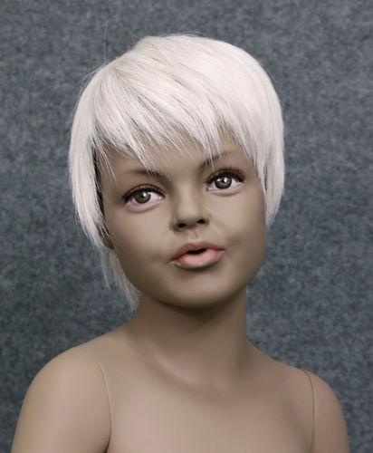 034 PARRUCCA 403 6 C1 - Parrucca per manichino bambina marchio Window Mannequins