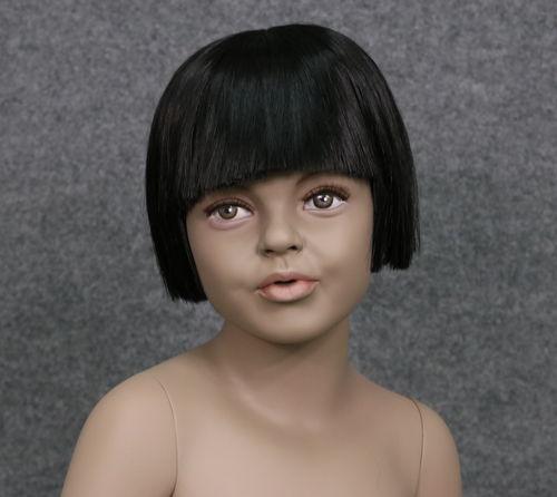 034 PARRUCCA 405 6 1B - Parrucca per manichino bambina marchio Window Mannequins
