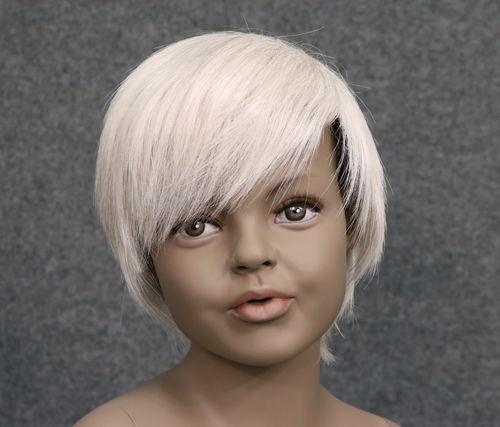 034 PARRUCCA 407 10 C1 - Parrucca per manichino bambina marchio Window Mannequins