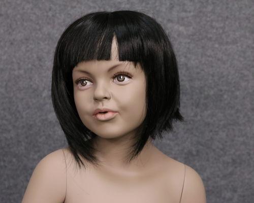034 PARRUCCA 408 10 1B - Parrucca per manichino bambina marchio Window Mannequins