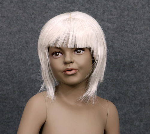 034 PARRUCCA 408 10 C1 - Parrucca per manichino bambina marchio Window Mannequins