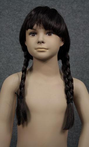 034 PARRUCCA AMELIA - Parrucca per manichino da bambina