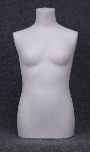 035 BUSTO 1012B POLISTIROLO - Busto da bambina polistirolo grezzo