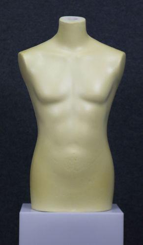 035 BUSTO 1U GREZZO - Busto da uomo in poliuretano grezzo