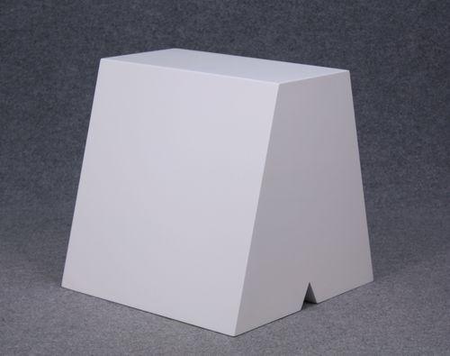 035 ESPOSITORE LETTERA ABI - Espositore lettera a colore bianco